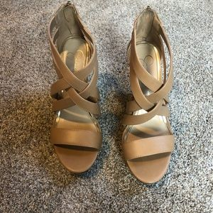 Jessica Simpson summer wedges